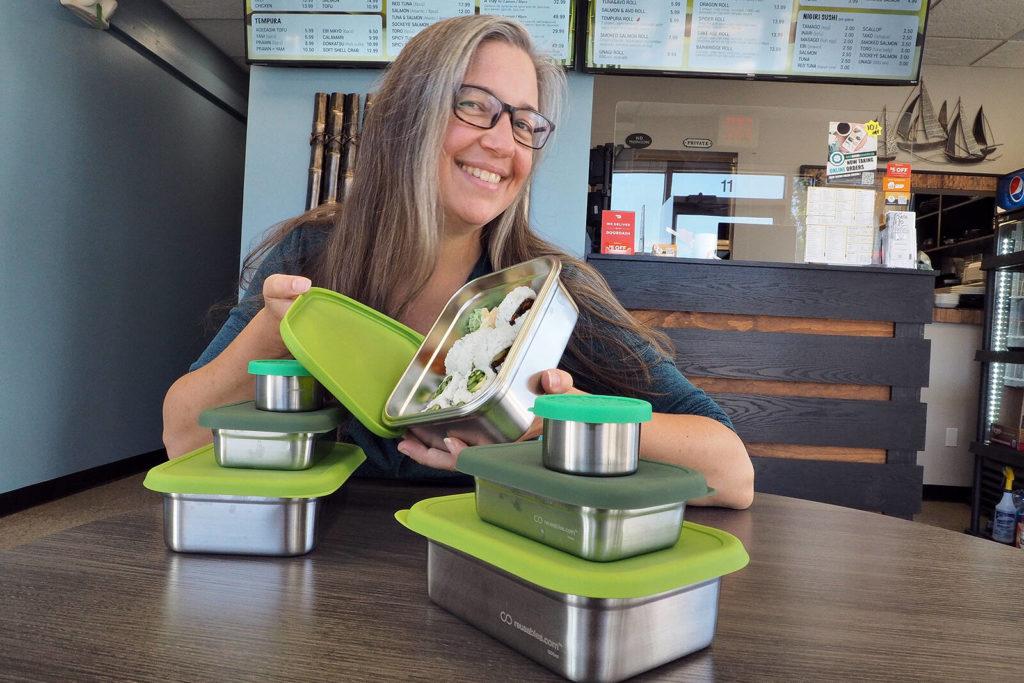 Nanaimo reusable container business tries to limit take-out trash - Nanaimo News Bulletin